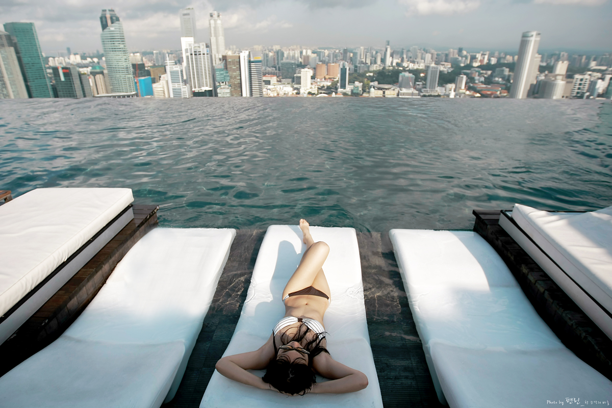 Singapore marina bay sands hotel for Singapour marina bay sands piscine